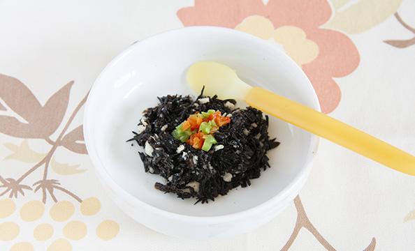 カンタン離乳食レシピ「おこせんひじき」&「おこせん鶏ささみ和え」