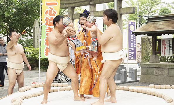 おこせん協賛 一心泣き相撲 七社場所レポート