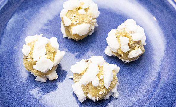 カンタン幼児食レシピ「おこせん団子」